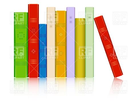 Row books clipart jpg black and white stock Row books clipart orange yellow free - ClipartFest jpg black and white stock