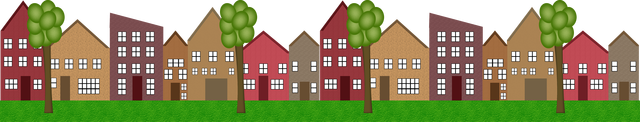 Row house clipart image stock Row Of Houses Clipart - clipartsgram.com image stock