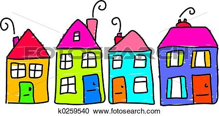 Row house clipart picture download Row house Illustrations and Stock Art. 1,855 row house ... picture download