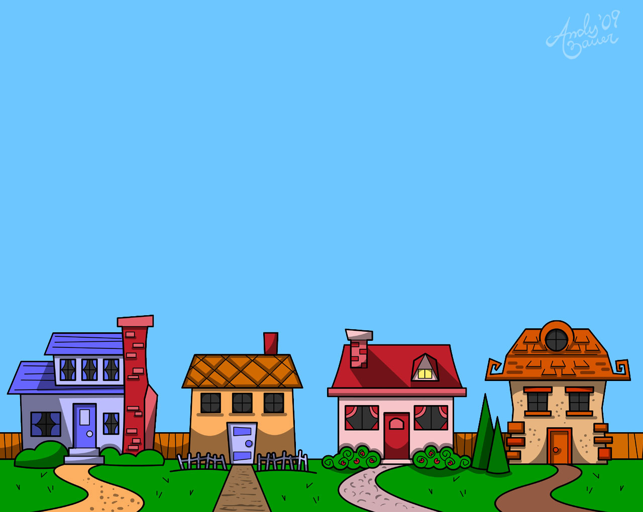 Row house clipart jpg stock Row Of Houses Clipart | Free Download Clip Art | Free Clip Art ... jpg stock