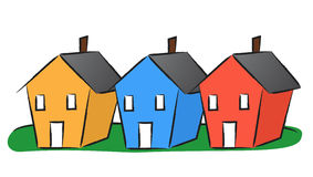 Row house clipart image freeuse Row Of Houses Clipart - Clipart Kid image freeuse