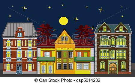 Row house clipart clipart free download House apartment townhouse clipart - ClipartFest clipart free download