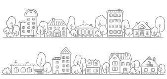 Row houses clipart svg free download Row Houses Stock Illustrations – 844 Row Houses Stock ... svg free download