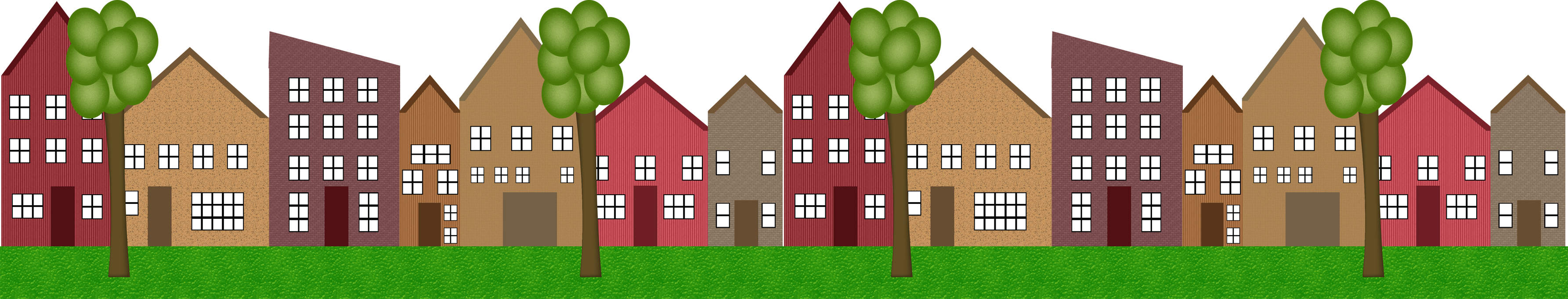 Row houses clipart clip art free stock Clip Art Of Homes In A Row Clipart - Clipart Kid clip art free stock