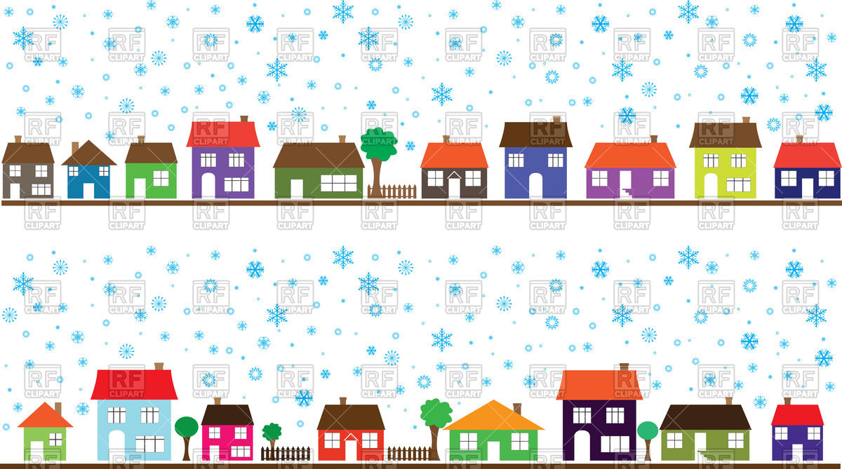 Row houses clipart picture free library Row Of Houses Clipart - Clipart Kid picture free library