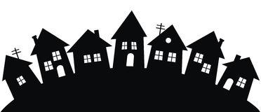 Row houses clipart jpg royalty free Row house black and white clipart - ClipartFest jpg royalty free