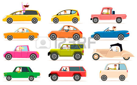Row of cars clipart freeuse Row Of Cars Images & Stock Pictures. Royalty Free Row Of Cars ... freeuse