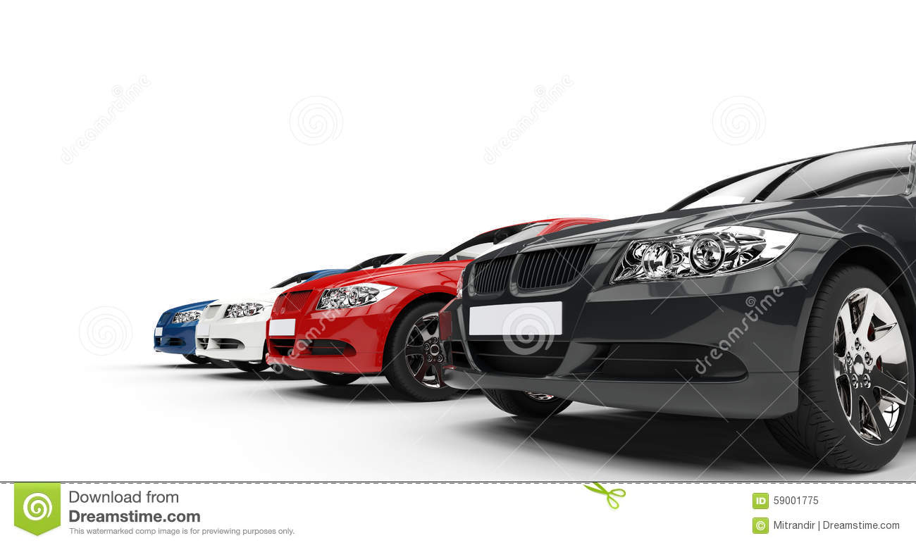 Row of cars clipart vector download Row Of Cars Stock Illustration - Image: 59001775 vector download