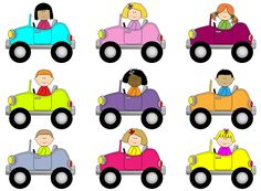 Row of cars clipart svg freeuse download Kids in a car clipart - ClipartFest svg freeuse download
