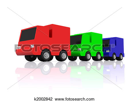 Row of cars clipart clip transparent stock Clip Art of row of RGB cars. 3D k2002842 - Search Clipart ... clip transparent stock