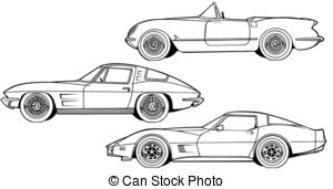 Row of cars clipart vector library library Classic car Clipart and Stock Illustrations. 10,209 Classic car ... vector library library