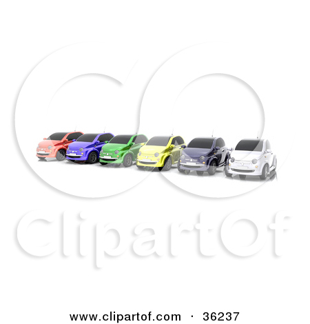 Row of cars clipart royalty free download Royalty Free Stock Illustrations of Compact Cars by KJ Pargeter Page 1 royalty free download