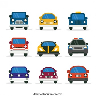 Row of cars clipart clip freeuse Car Pictograms Vectors, Photos and PSD files | Free Download clip freeuse