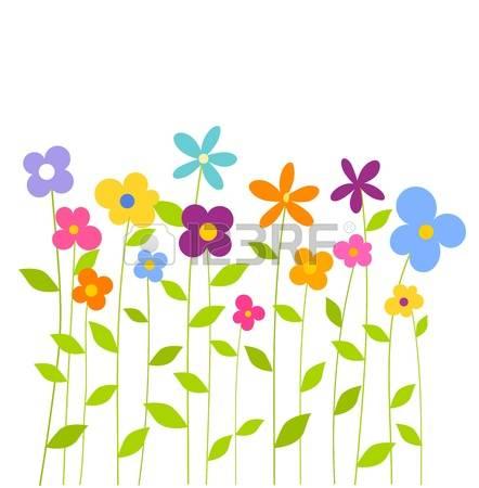 Row of flowers clipart vector transparent 5,144 Row Of Flowers Cliparts, Stock Vector And Royalty Free Row ... vector transparent