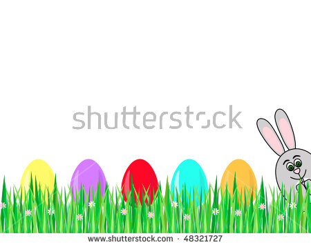 Row of grass clipart vector library library Clipart row of grass colorful - ClipartFest vector library library