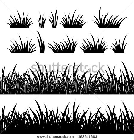 Row of grass clipart picture free download Grass free vector download (997 Free vector) for commercial use ... picture free download