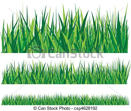 Row of grass clipart graphic library stock Vector Illustration of grass - rows of grass csp4628192 - Search ... graphic library stock
