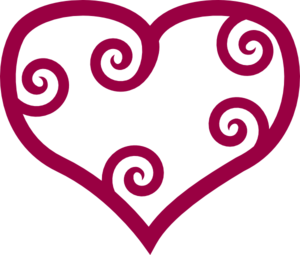 Row of hearts clip art image freeuse download Hearts In A Row Clipart | Clipart Panda - Free Clipart Images image freeuse download