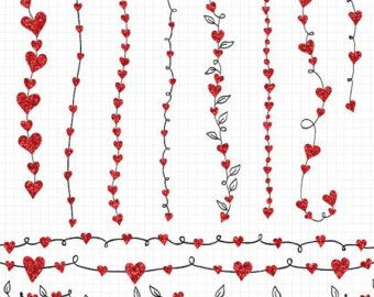 Row of hearts clip art banner black and white 17 Best images about hearts on Pinterest | Clip art, Doodles and ... banner black and white