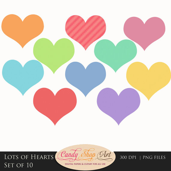 Row of hearts clip art banner transparent Row Of Hearts Clipart - Clipart Kid banner transparent