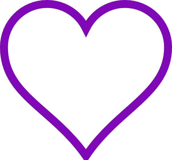 Heart clipart purple svg download pretty hearts | Purple 3d Love Heart with Transparent Background ... svg download