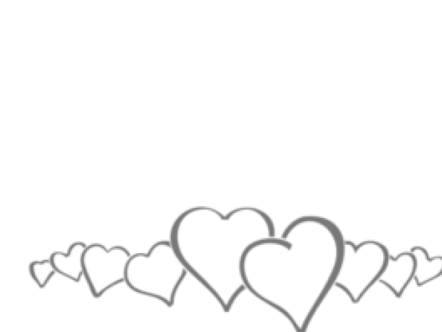 Row of hearts clipart black and white image freeuse download Line of hearts clipart clipart images gallery for free ... image freeuse download