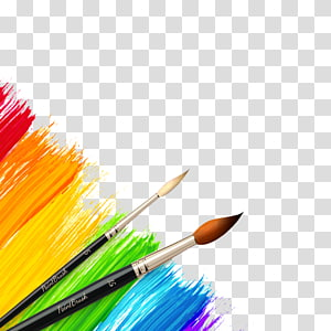 Row of paint brushes different colors transparent background clipart jpg royalty free library Colored pencil Watercolor painting, pencil transparent ... jpg royalty free library