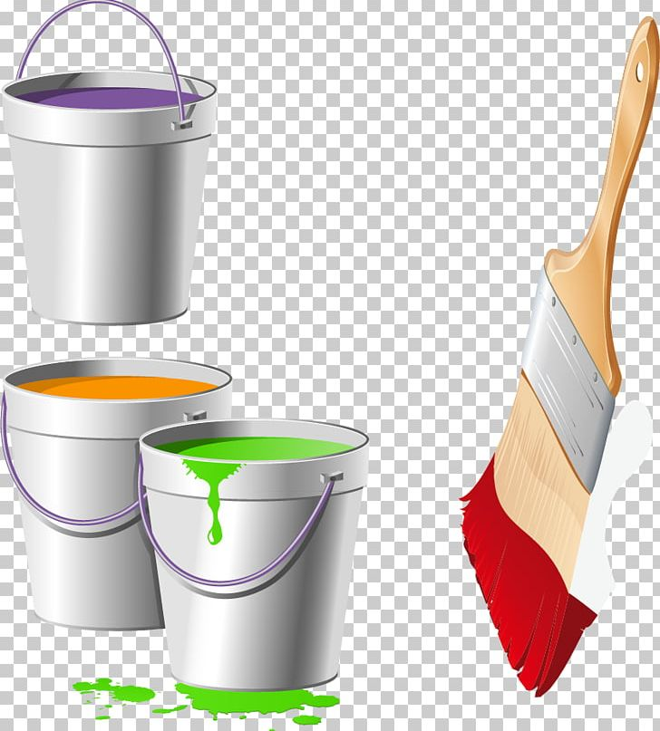 Row of paint brushes different colors transparent background clipart image library stock Paintbrush Bucket Color PNG, Clipart, Brush, Bucket, Bucket ... image library stock