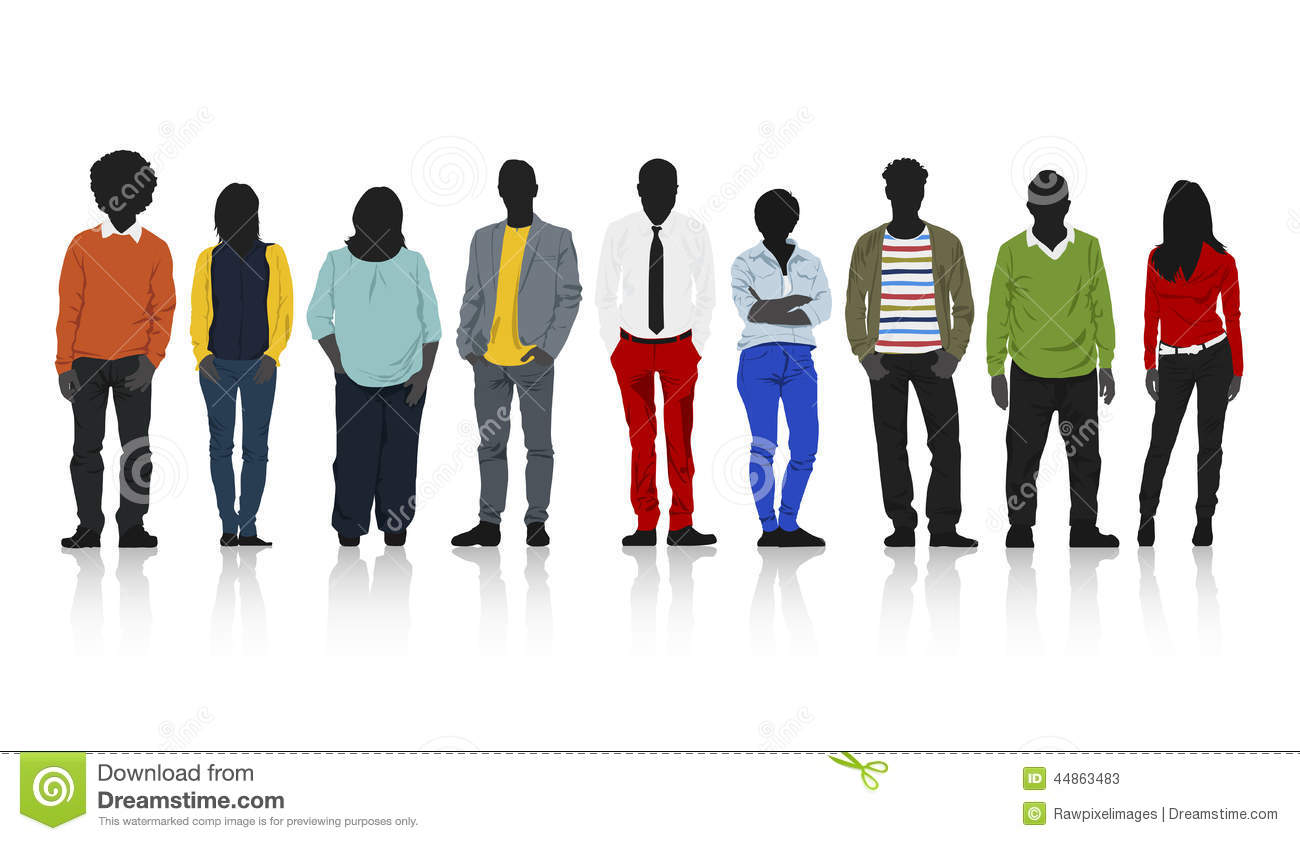Row of people clipart royalty free library Rows of people clipart - ClipartFest royalty free library