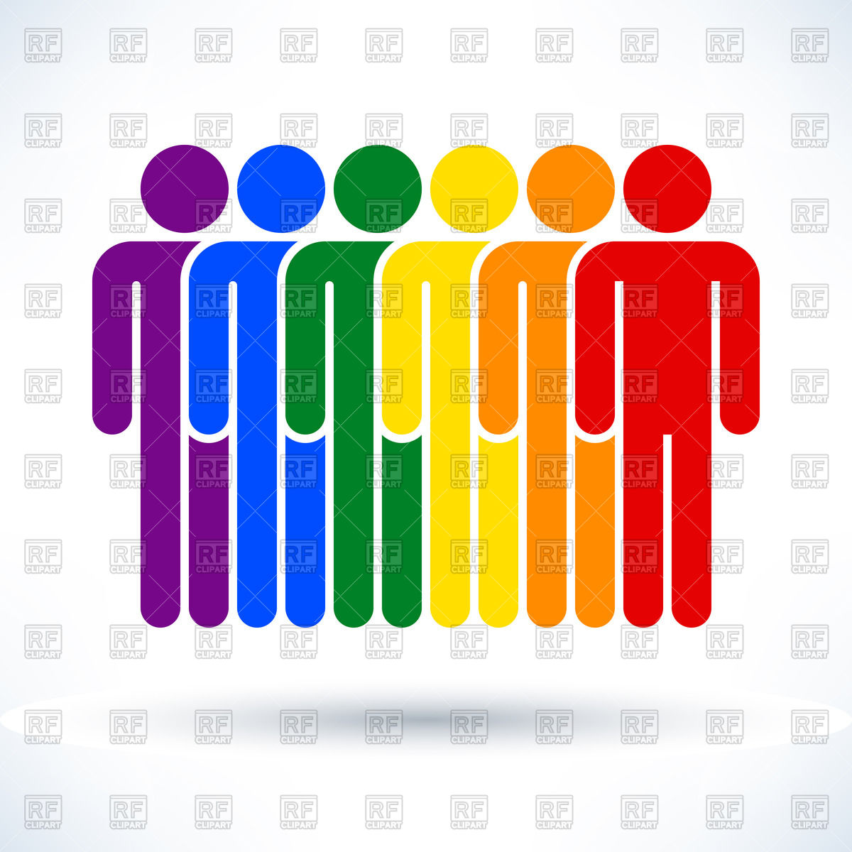 Row of people clipart clip art library download Rows of people clipart - ClipartFest clip art library download