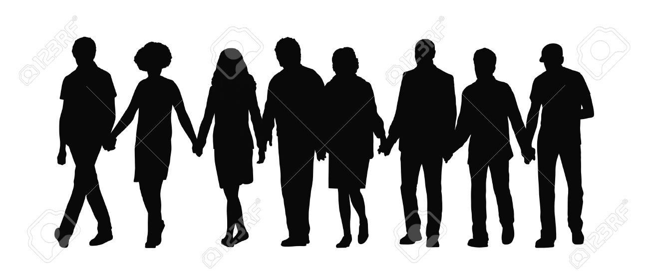 Row of people clipart clipart 16,078 Row Of People Stock Illustrations, Cliparts And Royalty ... clipart