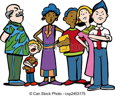 Row of people clipart png free stock Wait line Stock Illustrations. 3,066 Wait line clip art images and ... png free stock