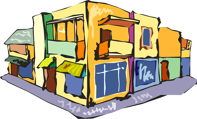 Row of shops clipart jpg black and white stock Shops Clipart | Free Download Clip Art | Free Clip Art | on ... jpg black and white stock