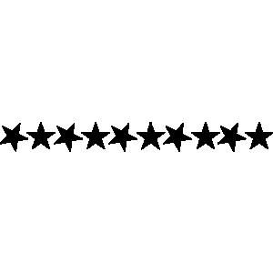 Row of stars clipart jpg transparent stock Line of stars clipart - ClipartFest jpg transparent stock