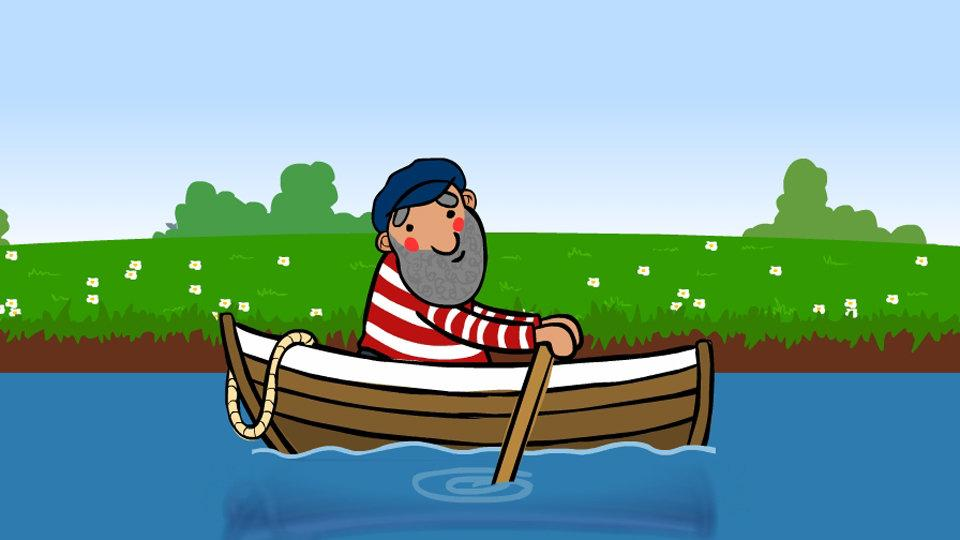 Row row row your boat clipart graphic royalty free BBC - School Radio - Nursery songs and rhymes - Nursery rhymes and ... graphic royalty free