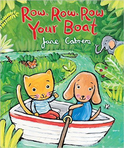 Row row row your boat clipart svg royalty free download ROW ROW ROW YOUR BOAT, an Illustrated Song | Sing Books with Emily ... svg royalty free download