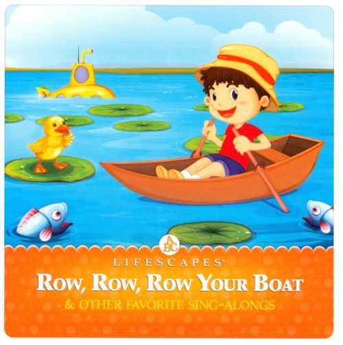 Row row row your boat clipart jpg royalty free library Lifescapes For Kids: Row, Row, Row Your Boat - Various Artists ... jpg royalty free library