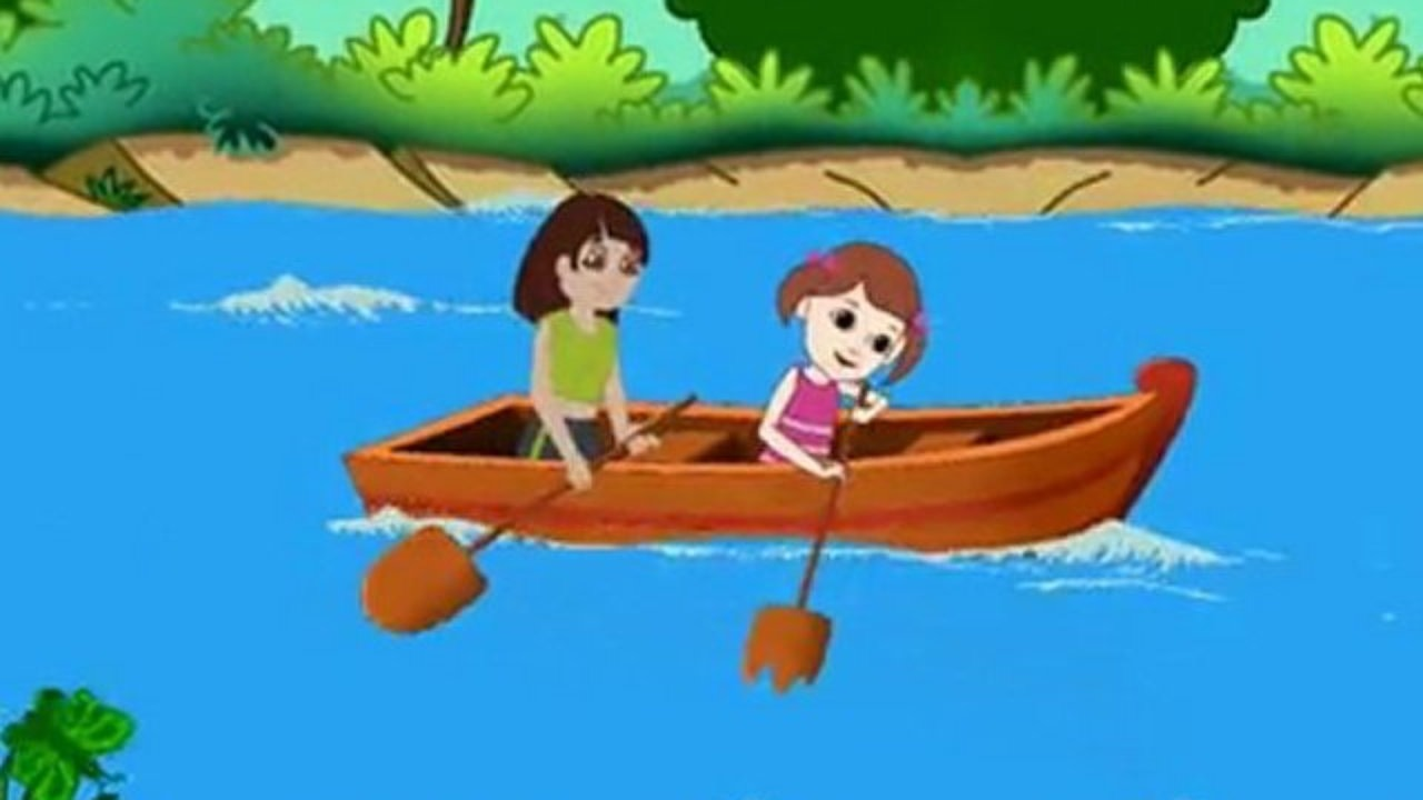Row row row your boat clipart image royalty free stock Row Row Row Your Boat - Nursery Rhymes with Full Lyrics - Video ... image royalty free stock