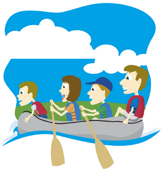 Row row row your boat clipart graphic free Row Row Row Your Boat - Nursery Rhyme Row Row Row Your Boat Lyrics ... graphic free