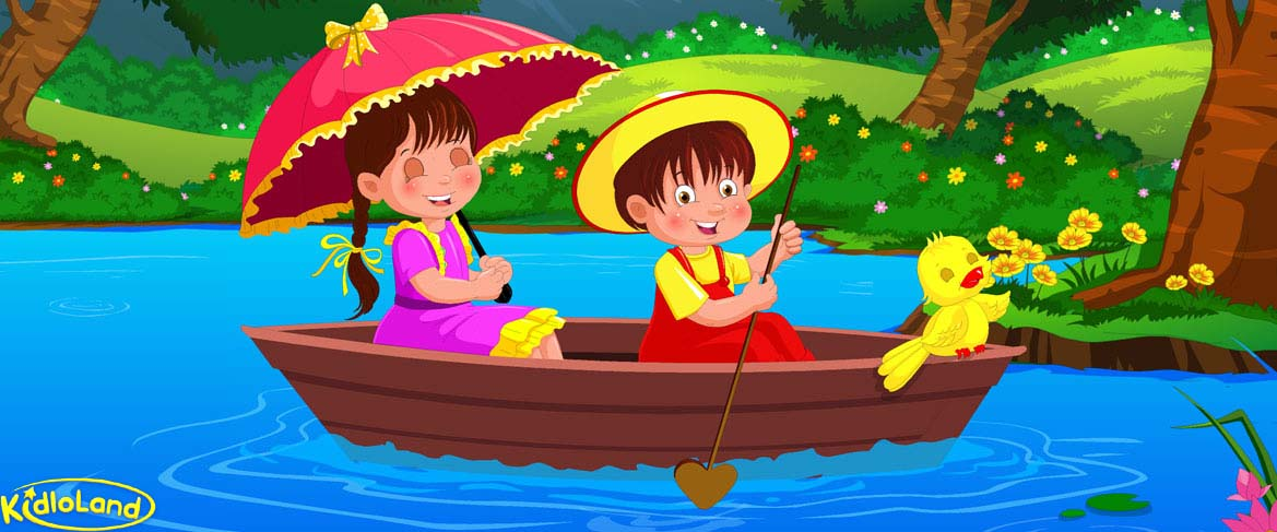 Row row row your boat clipart svg stock Row Row Row Your Boat | Nursery Rhymes App for Kids - Android ... svg stock