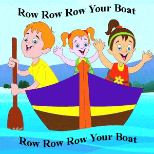 Row your boat clipart royalty free download Kids Rhyme Row Row Your Boat - Android Apps on Google Play royalty free download