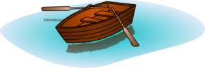 Row your boat clipart svg library library Row Boat With Oars Clip Art at Clker.com - vector clip art online ... svg library library