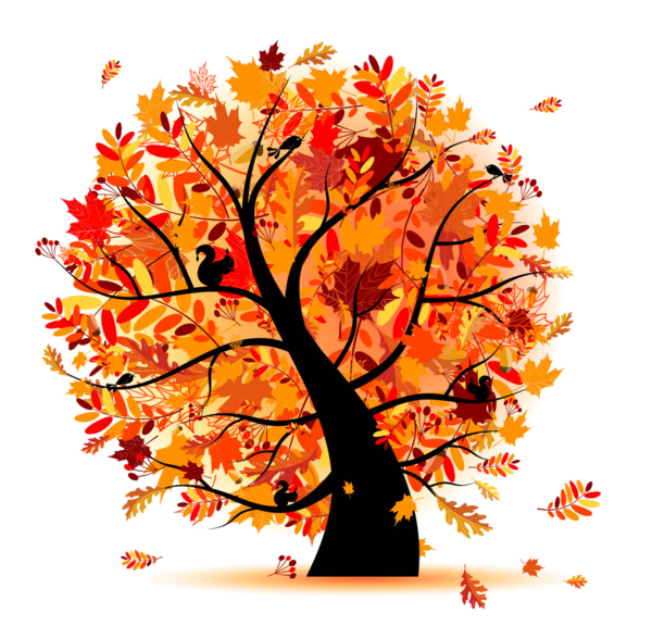 Fall Trees Clipart Group (61+) clipart stock