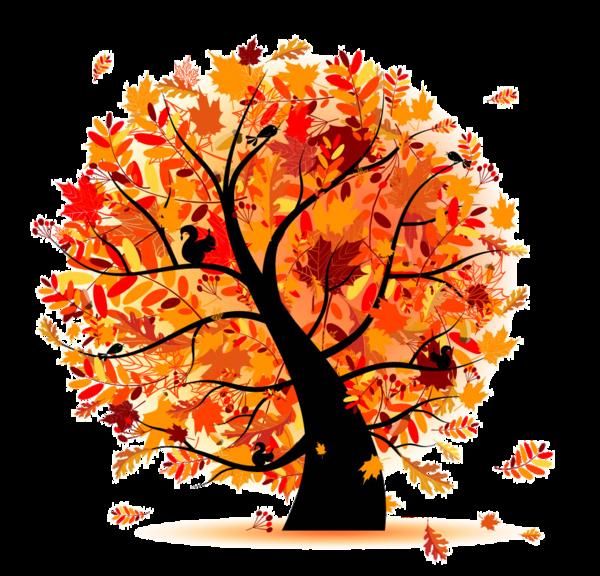 Rowan tree clipart clipart stock Fall Trees Clipart Group (61+) clipart stock