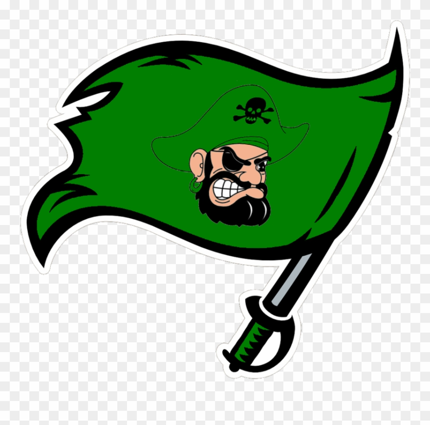 Rowdies clipart clip royalty free library Green Bucks - Tampa Bay Buccaneers Flag Clipart (#980451 ... clip royalty free library