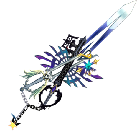 Roxas keyblade crossing clipart vector black and white Oath Keeper and Oblivion X-Blade   Kingdom Hearts   Kingdom ... vector black and white