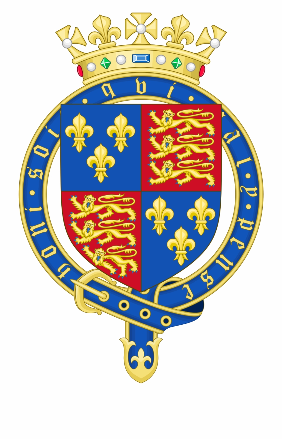 Royal arms of england clipart