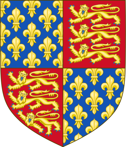 Royal arms of england clipart clip transparent library File:Royal Arms of England (1340-1367).svg - Wikimedia Commons clip transparent library