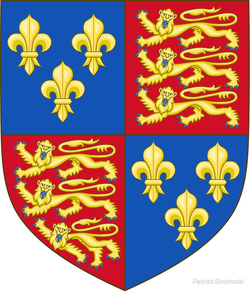 Royal arms of england clipart banner free stock Royal Arms of England (1406–1422)\