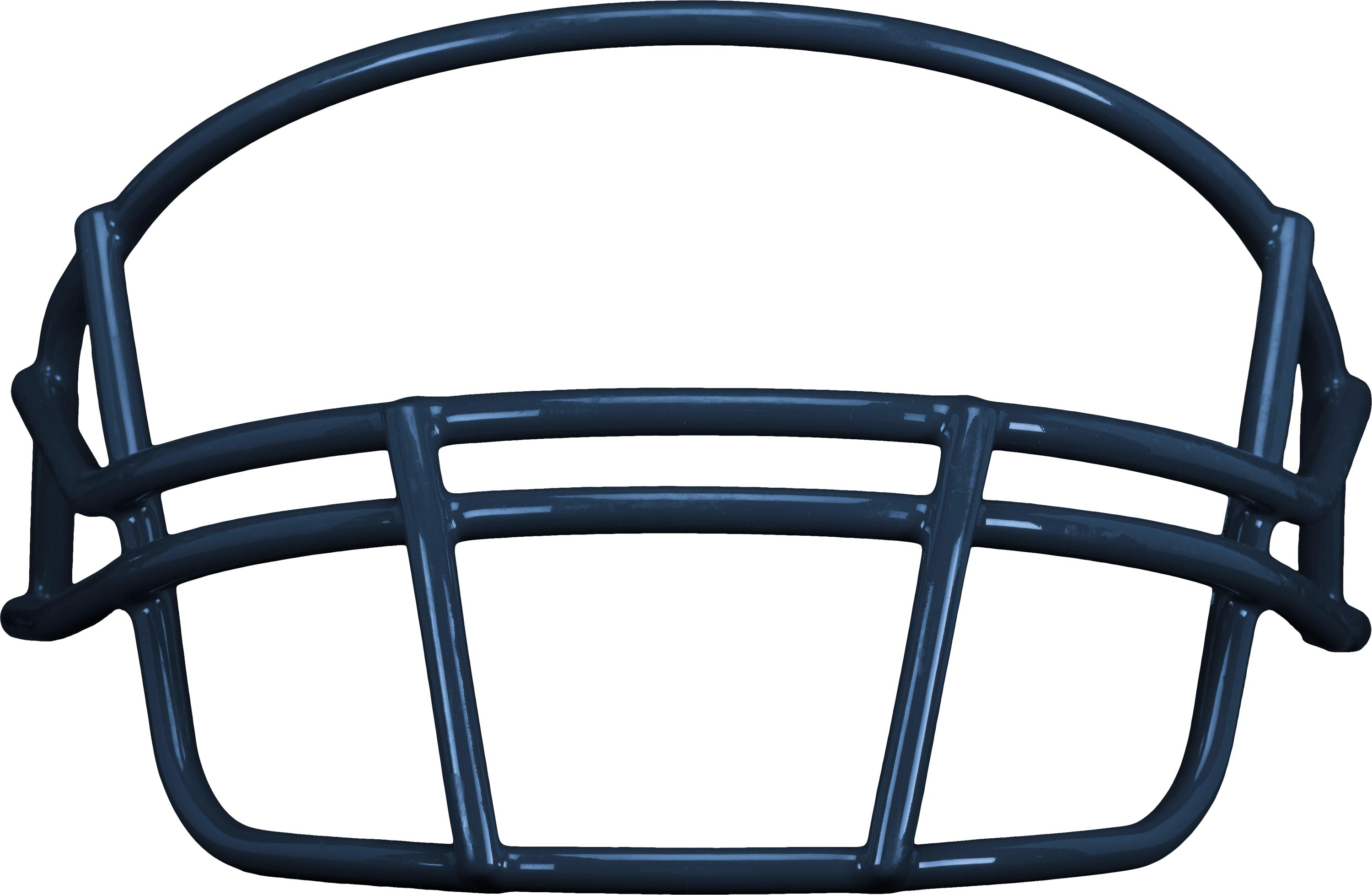 Royal blue facemask outline front football clipart free download Schutt Adult Super-Pro OPO Facemask | Football America free download